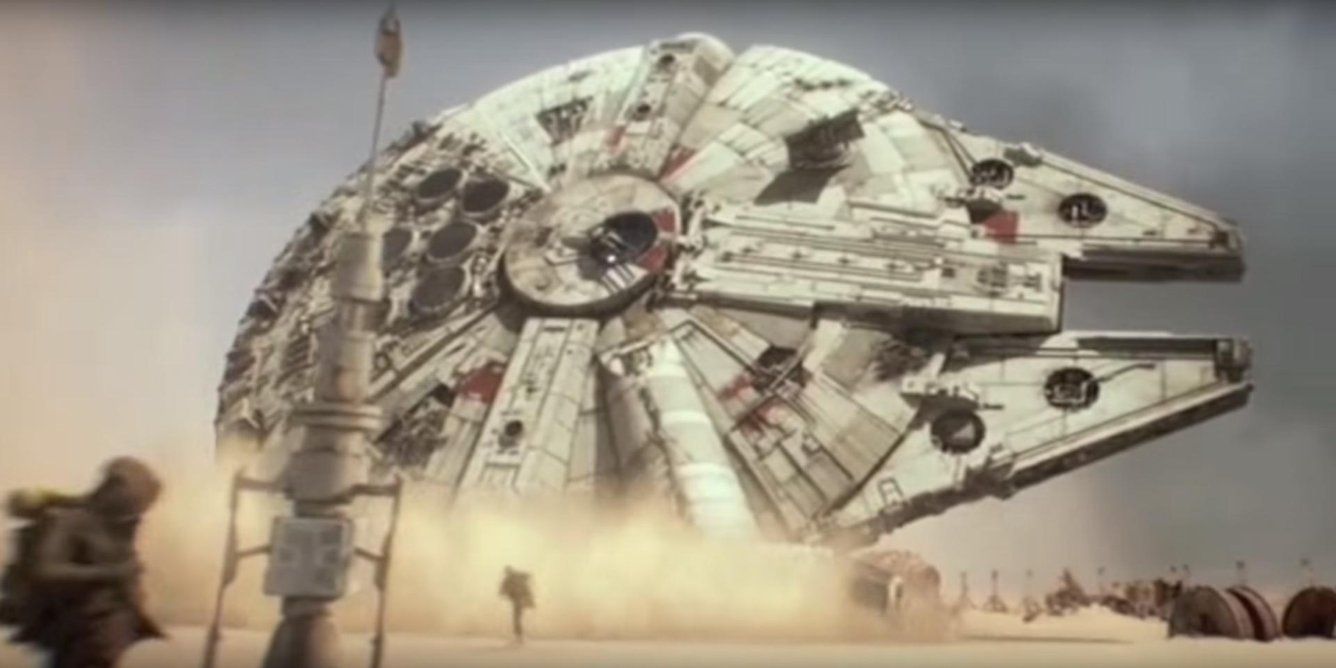 Han Solo, se bevi non guidare!