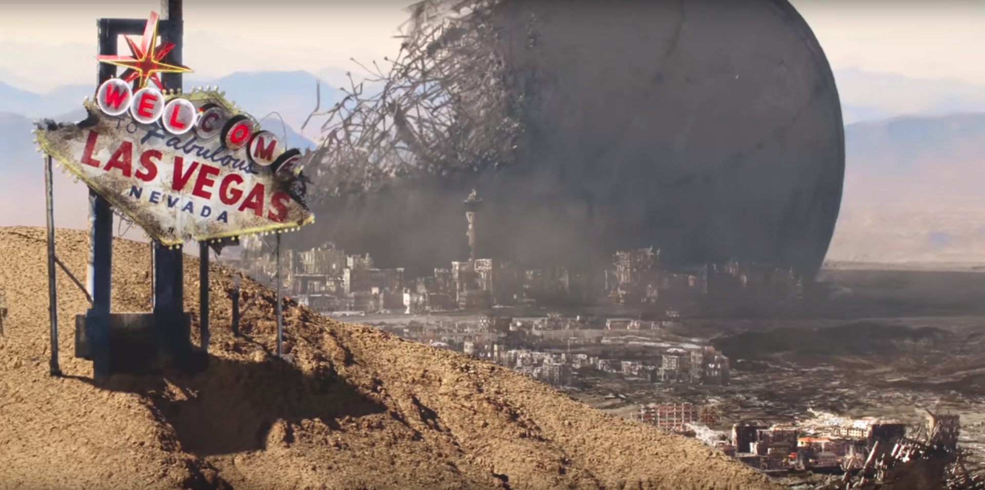Independence Day: Resurgence, le rovine di Las Vegas