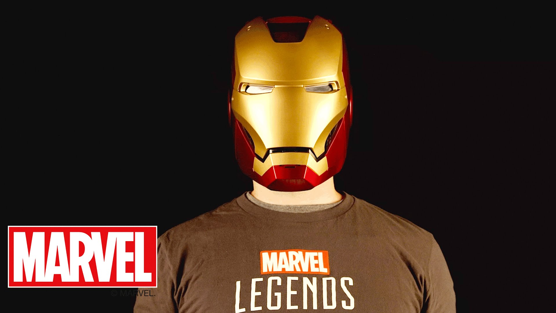 Marvel Legends Series: il casco di Iron Man e lo scudo di Captain America