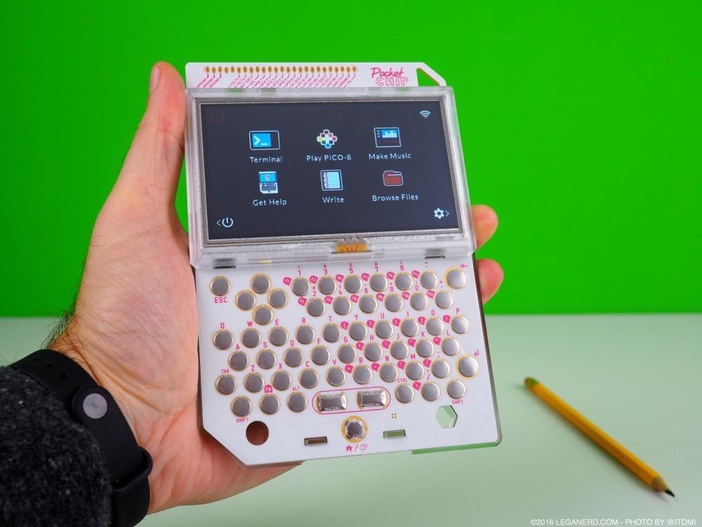 Pocket CHIP: il computer portatile con Linux e molto di più #LegaNerd