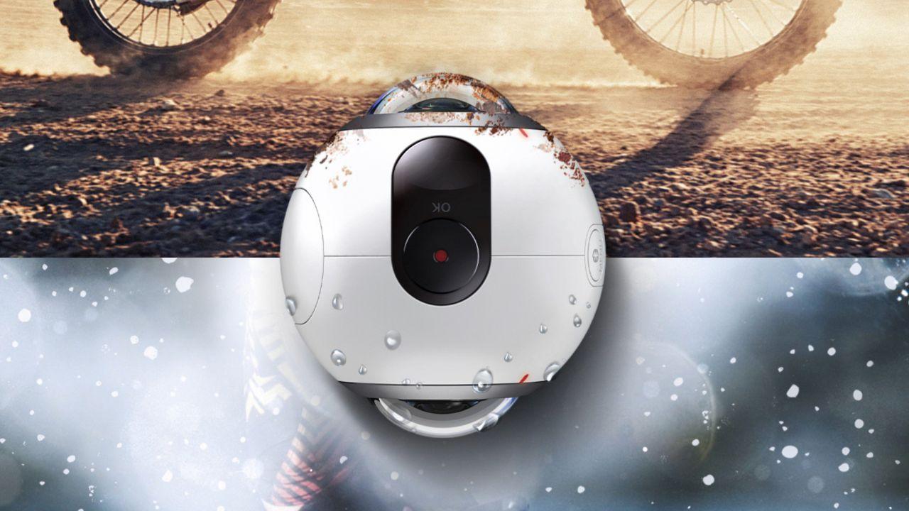 Samsung Gear 360 disponibile in Italia