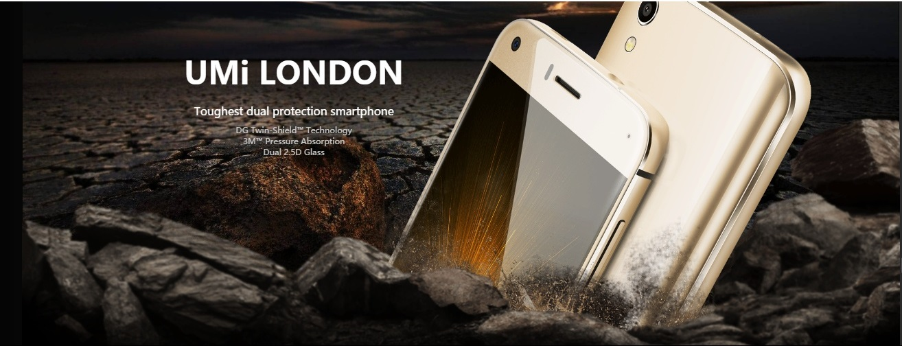 UMi London, lo smartphone duro, puro e low cost