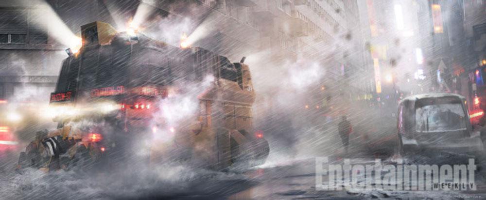 Blade Runner 2, i primi concept art ufficiali