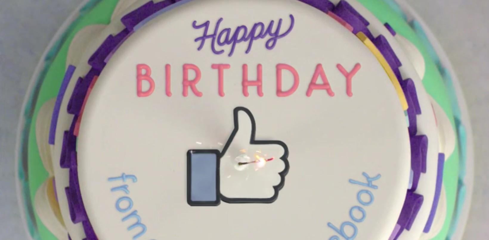 Facebook, gli auguri degli amici come Birthday Recap
