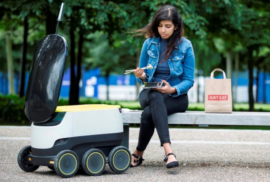Just Eat annuncia il robot per le consegne a domicilio