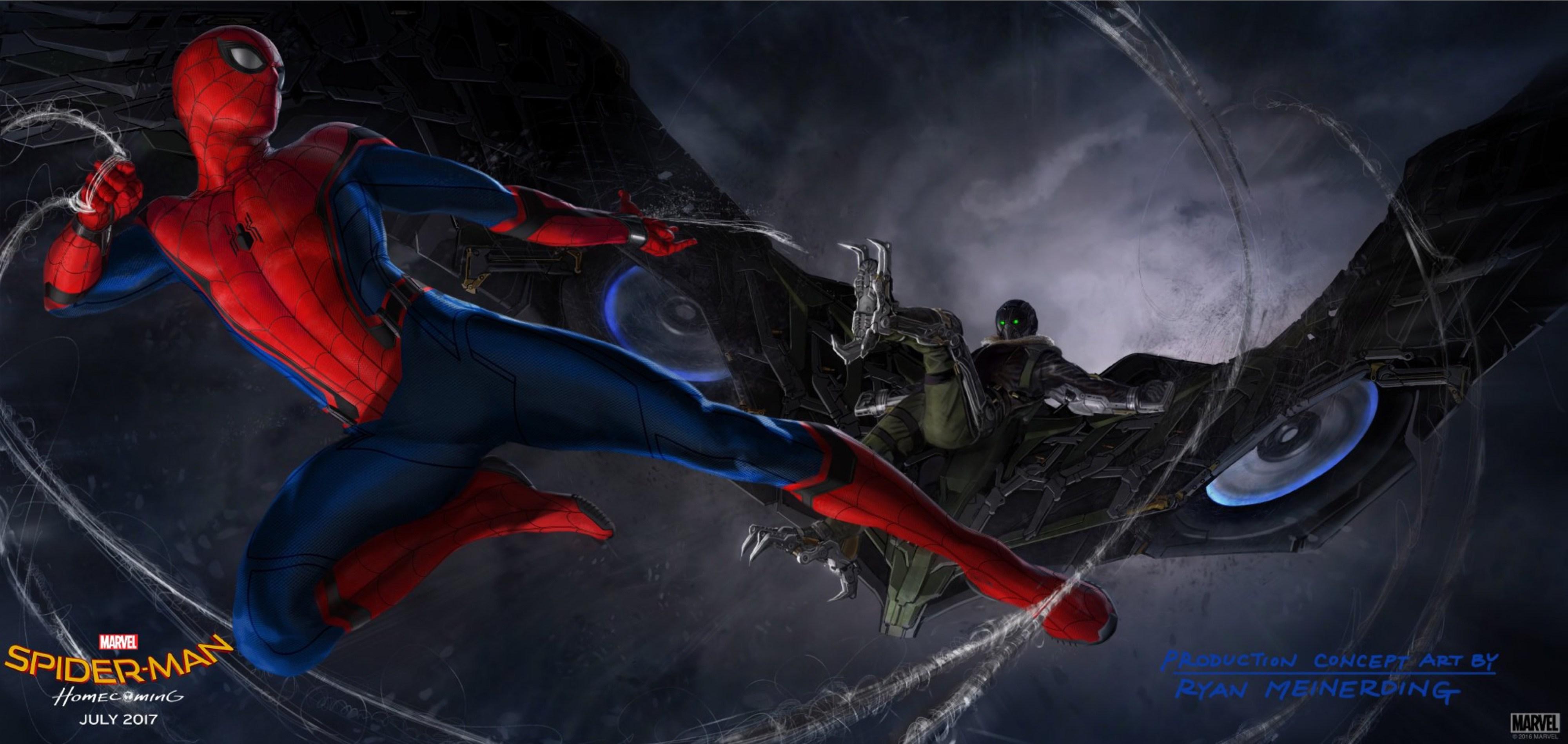 Spider-Man: Homecoming, primo sguardo all'Avvoltoio
