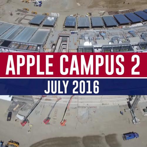 A che punto è il cantiere dell'Apple Campus 2?