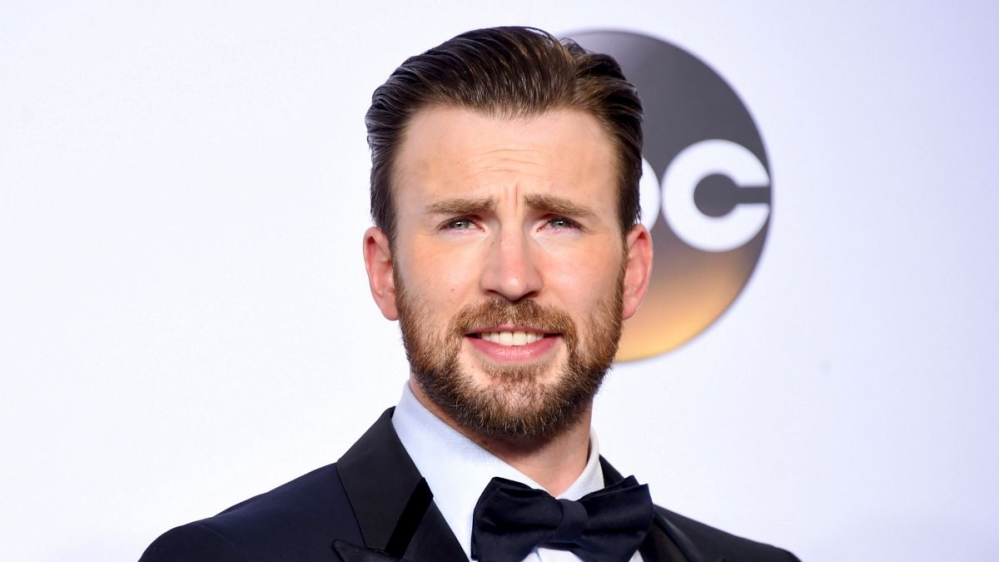 Chris Evans don't look up