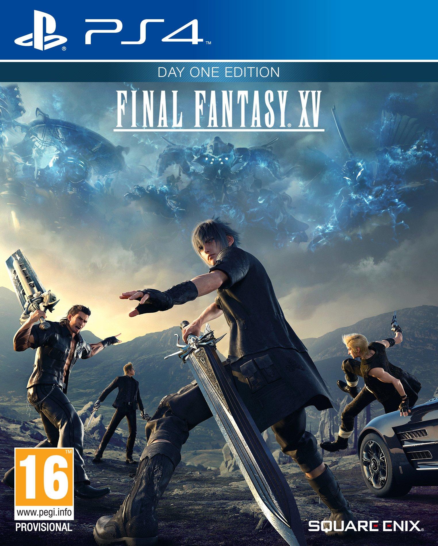 Final Fantasy XV, ecco la cover-art ufficiale
