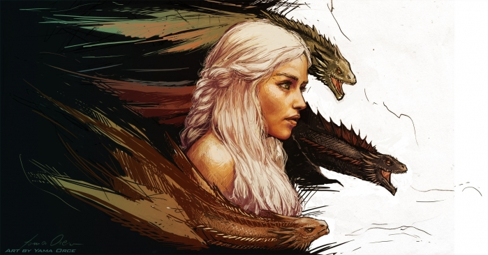 game_of_thrones_daenerys_targaryen_art_fantasy_dragon_wallpaper