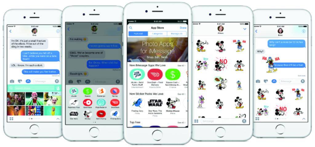 iOS 10, ecco i nuovi sticker animati
