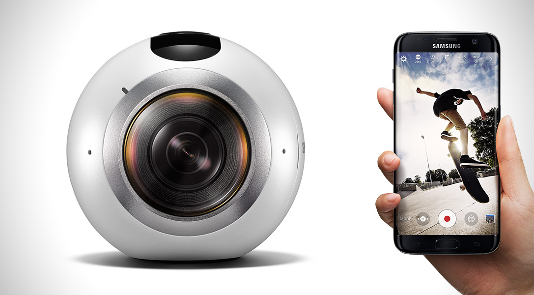 Samsung Gear 360, video esperienze a 360 gradi