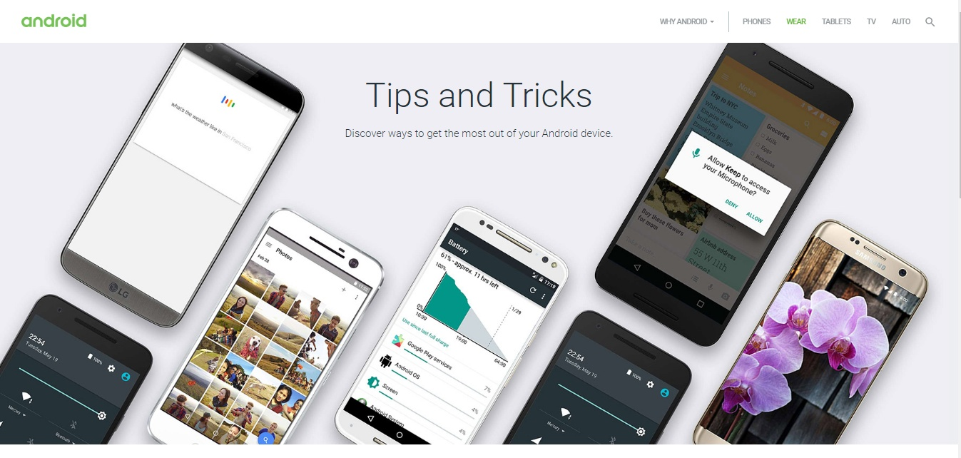 Android Tips & Tricks, l'OS Google in pillole