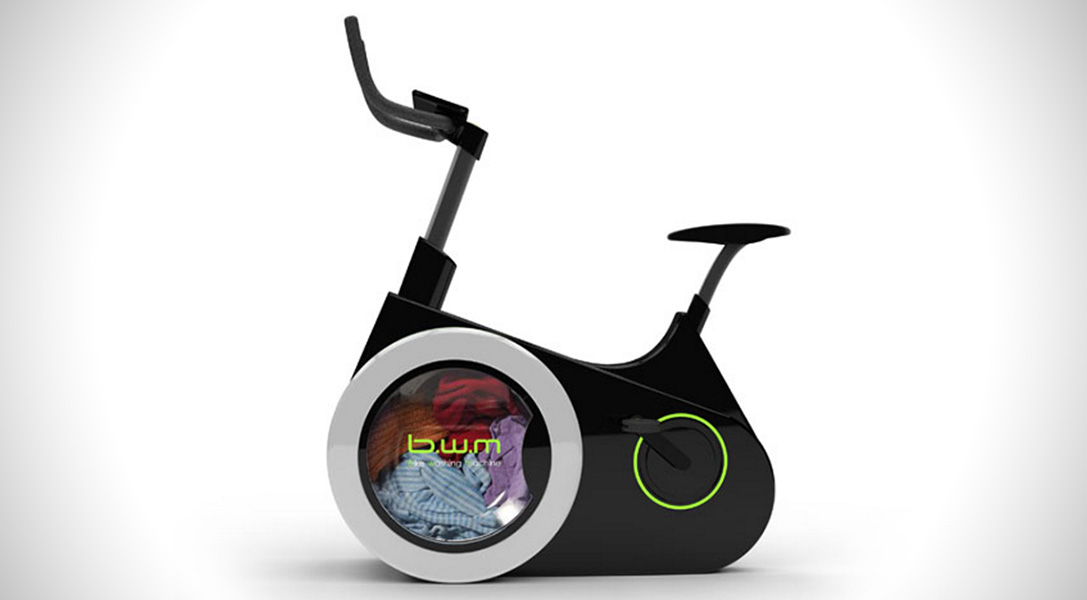 Bike Washing Machine: i panni sporchi si lavano pedalando