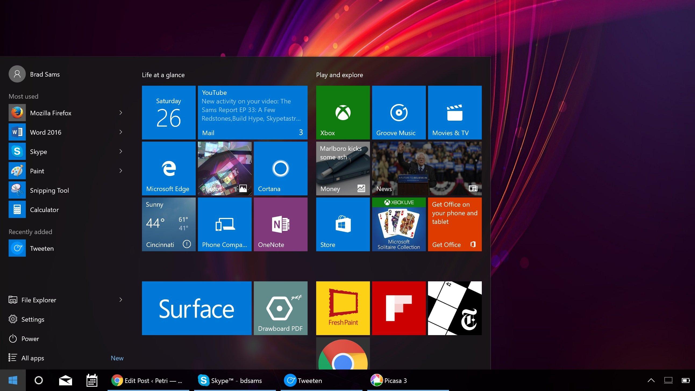 Windows 10 Anniversary Update, tutte le novità in arrivo