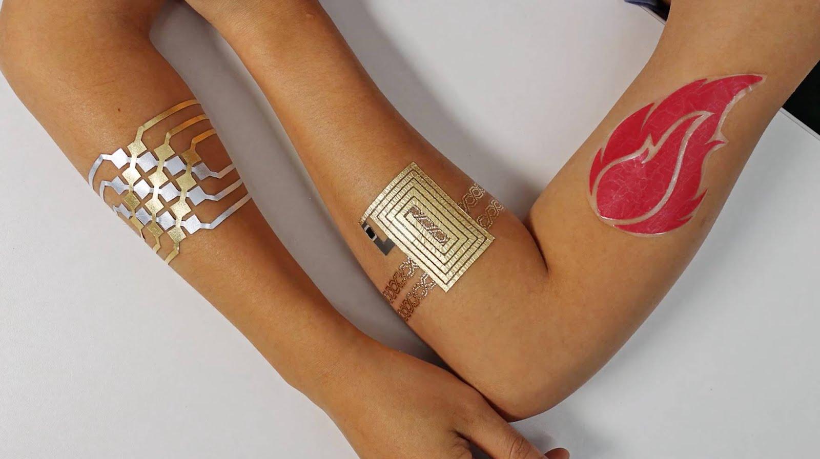 DuoSkin, il tatuaggio che diventa touchpad