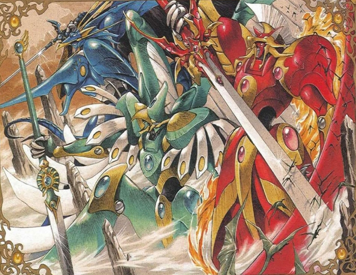 Magic Knight Rayearth Geni Managuerrieri