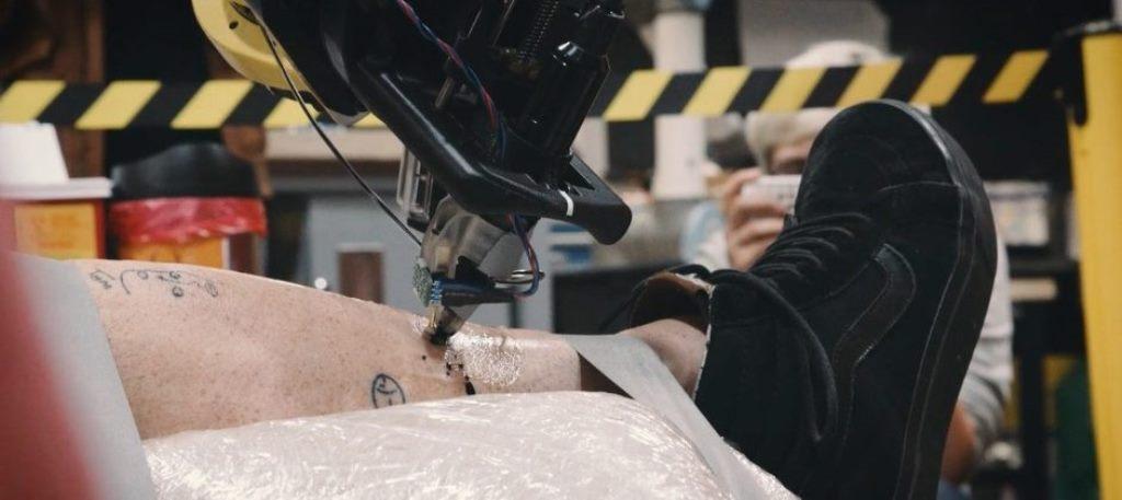 Tatoué, il primo robot tatuatore al mondo
