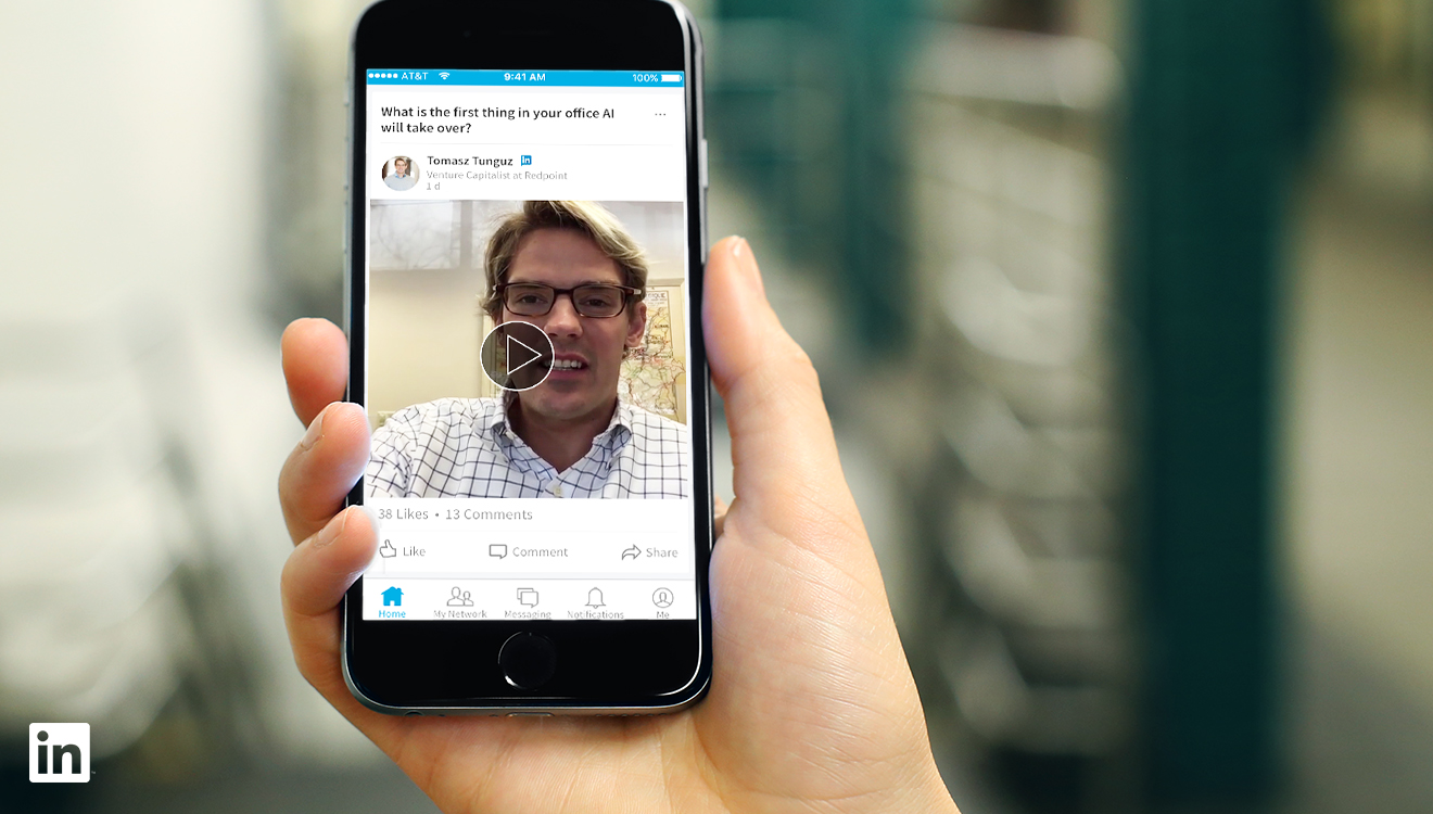 Linkedin: video da 30 secondi per gli Influencer