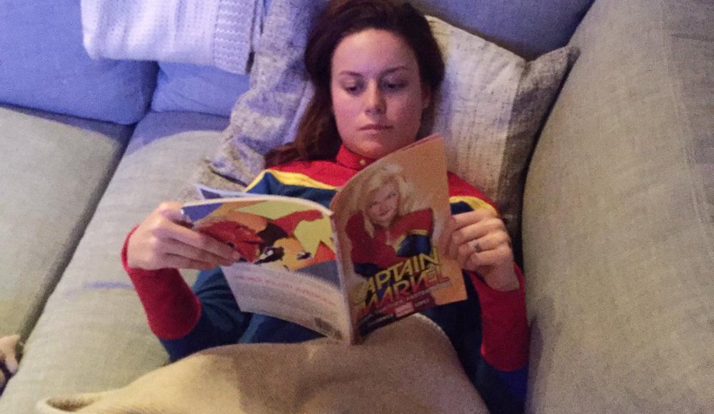 Capitan Marvel, Brie Larson si prepara per il ruolo