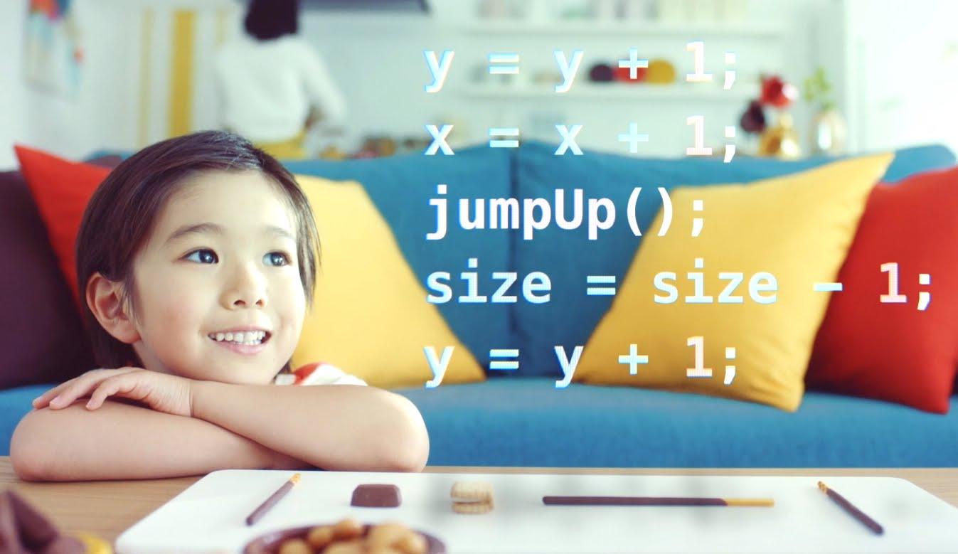 Glicode, con i dolci i bambini giapponesi imparano il coding