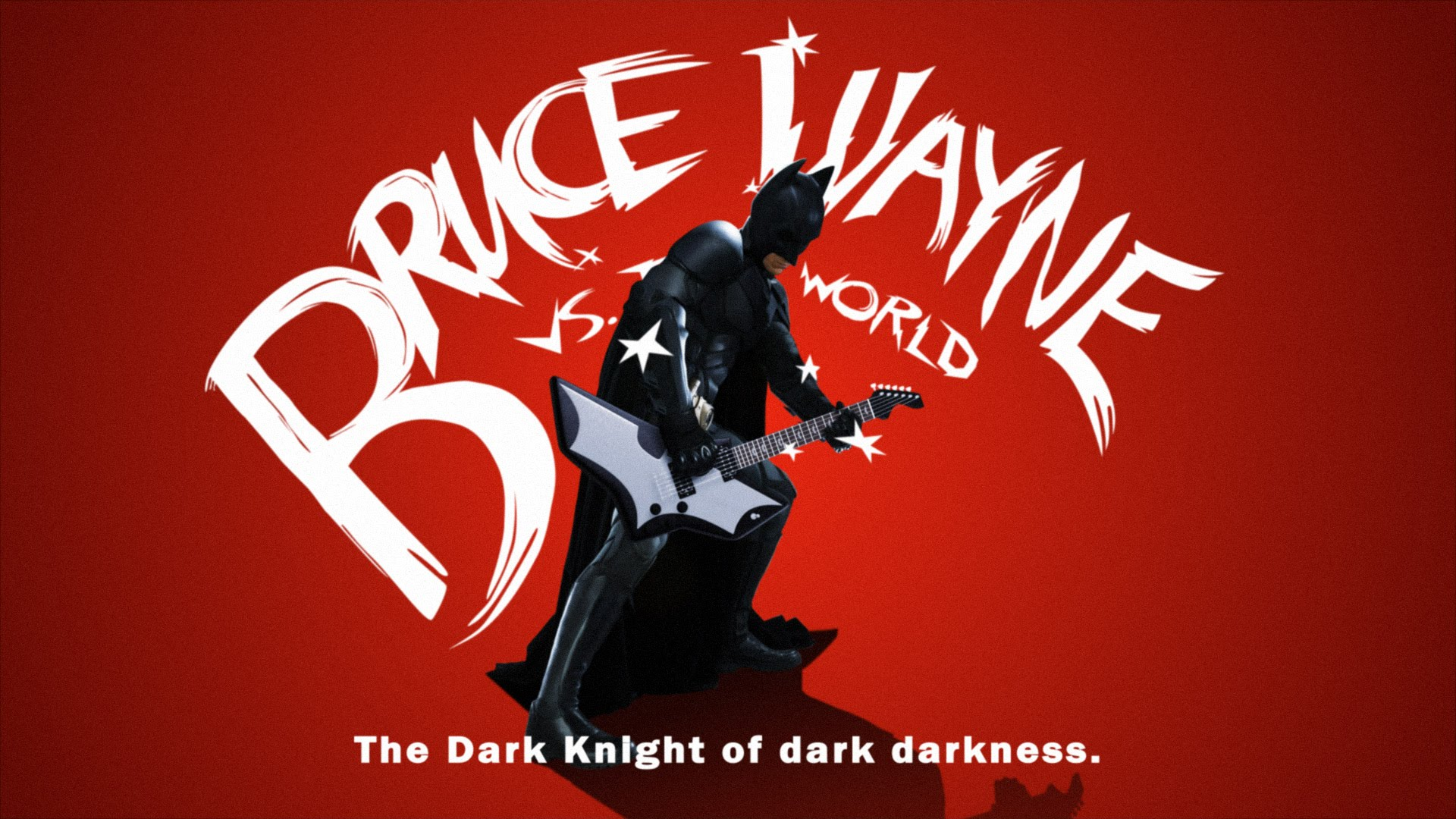 Bruce Wayne vs. The World: se Batman fosse Scott Pilgrim