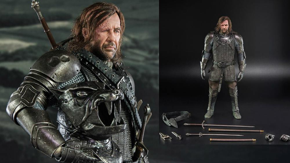 Game of Thrones, la gloriosa action figure di The Hound