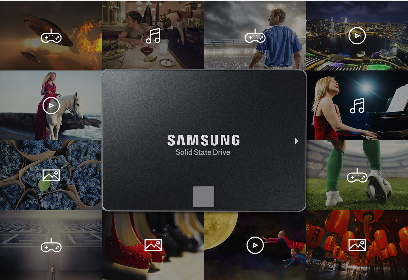 Samsung, arriva l'SSD da 4 TB