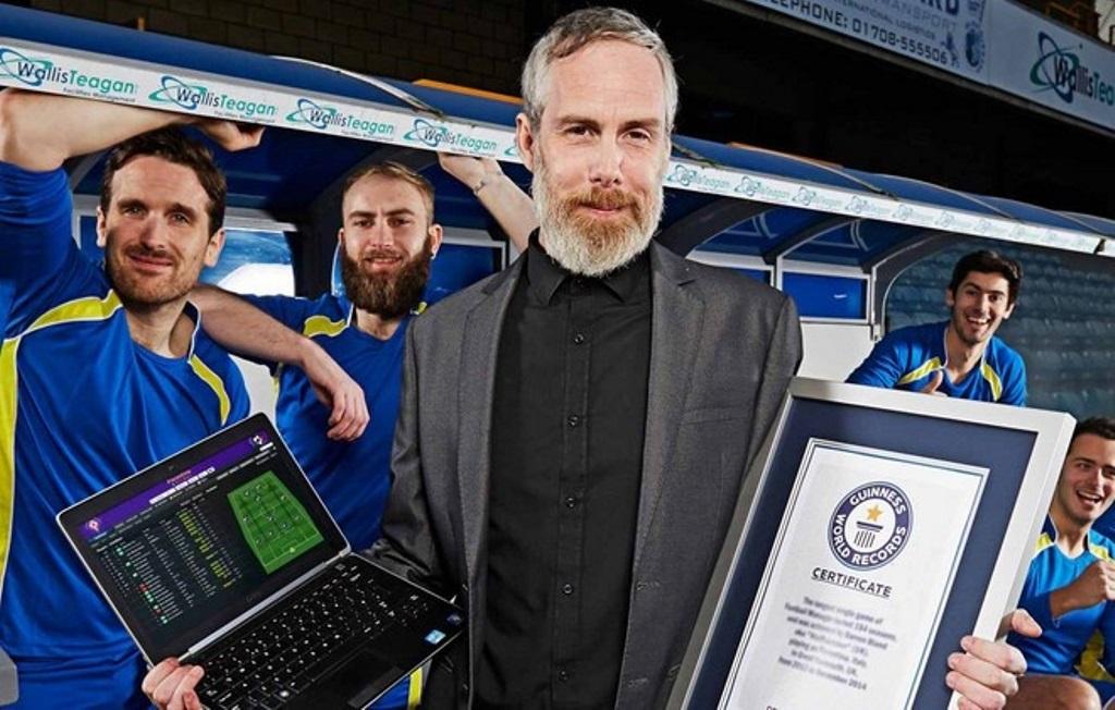 Football Manager, un giocatore conquista il Guinness World Record