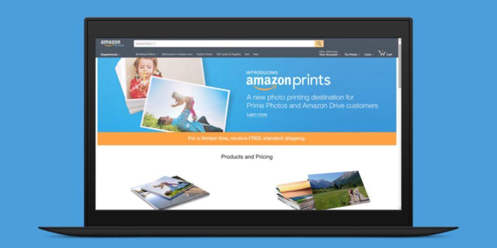 Amazon Prints, il servizio di stampa foto