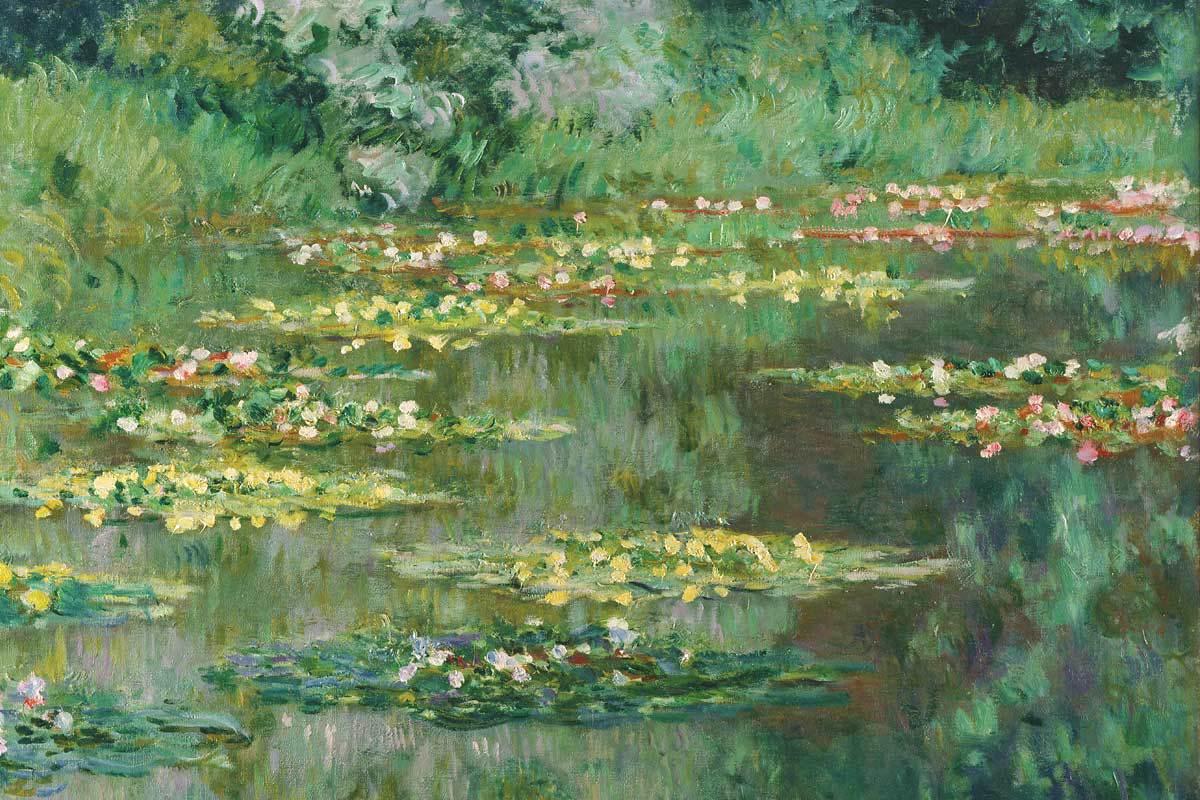 Le Ninfee di Monet in mostra a Parma