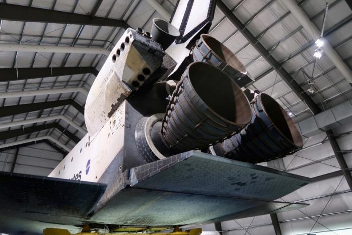 Non capirete mai quanto è grande ed imponente uno Space Shuttle finché non avrete la fortuna di vederlo dal vivo.