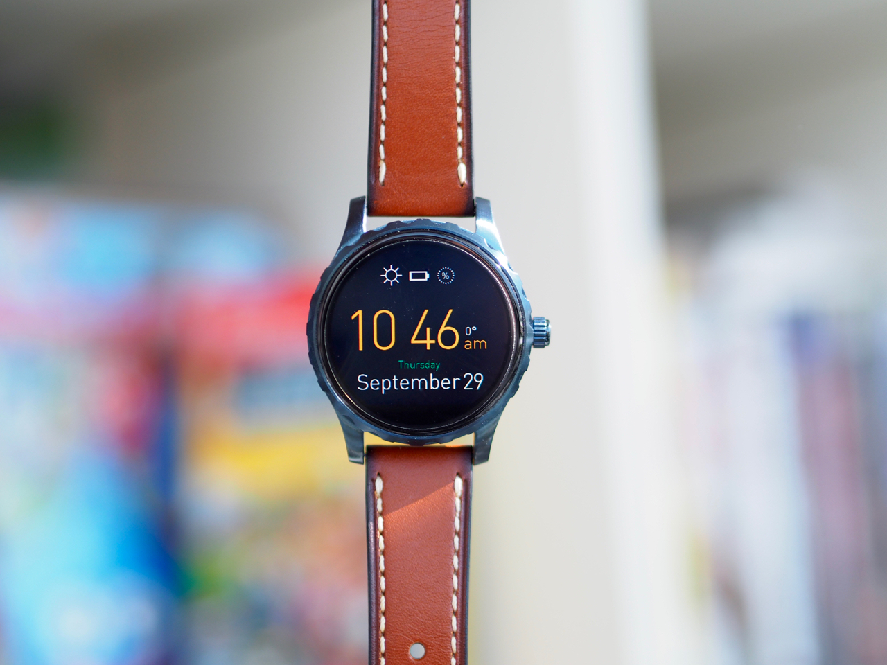 Fossil Q Marshal Smartwatch Unboxing