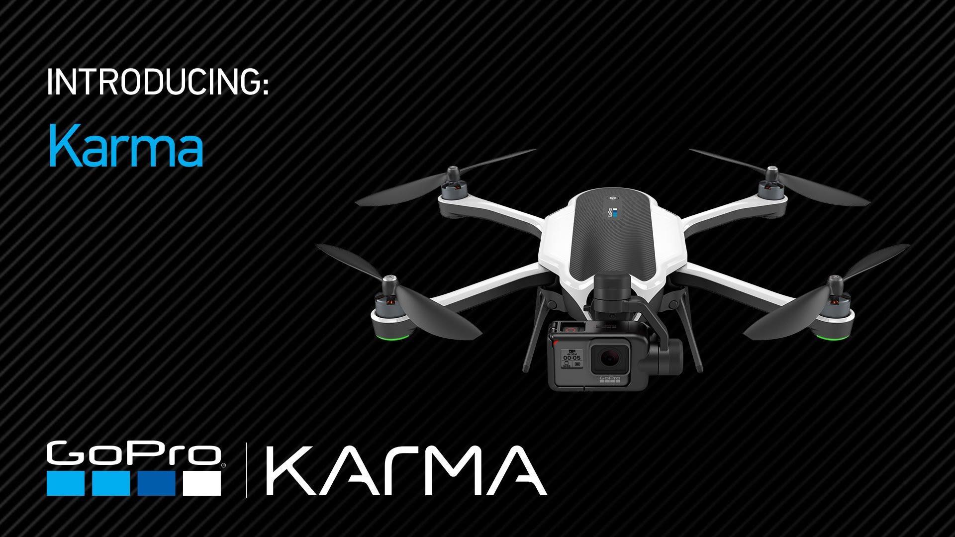Karma, il primo drone di GoPro