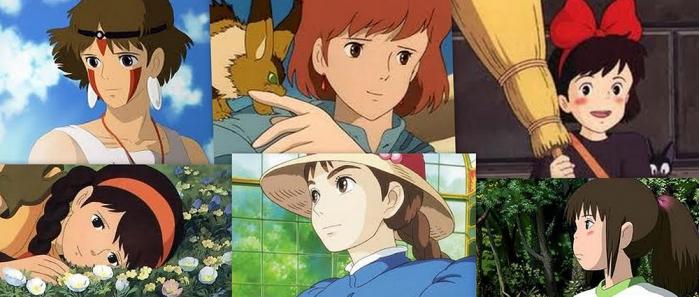 Hayao Miyazaki eroine