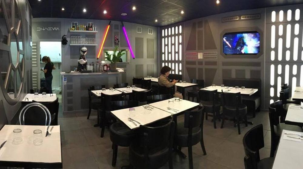 Il Cafè parigino ispirato a Star Wars