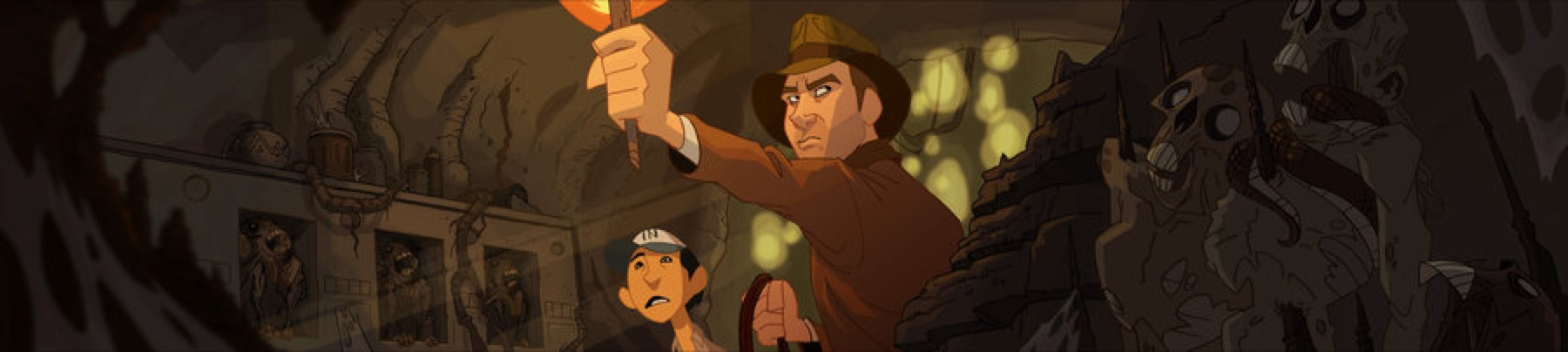 Indiana Jones e la sua avventura animata fan-made
