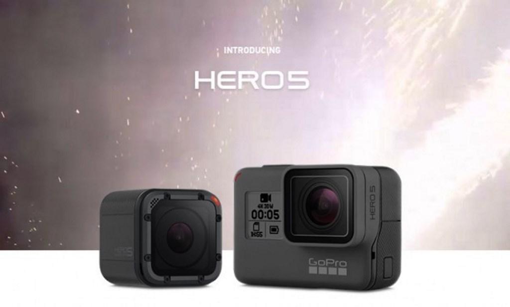 GoPro Hero5 Black e Hero5 Session, le nuove action cam