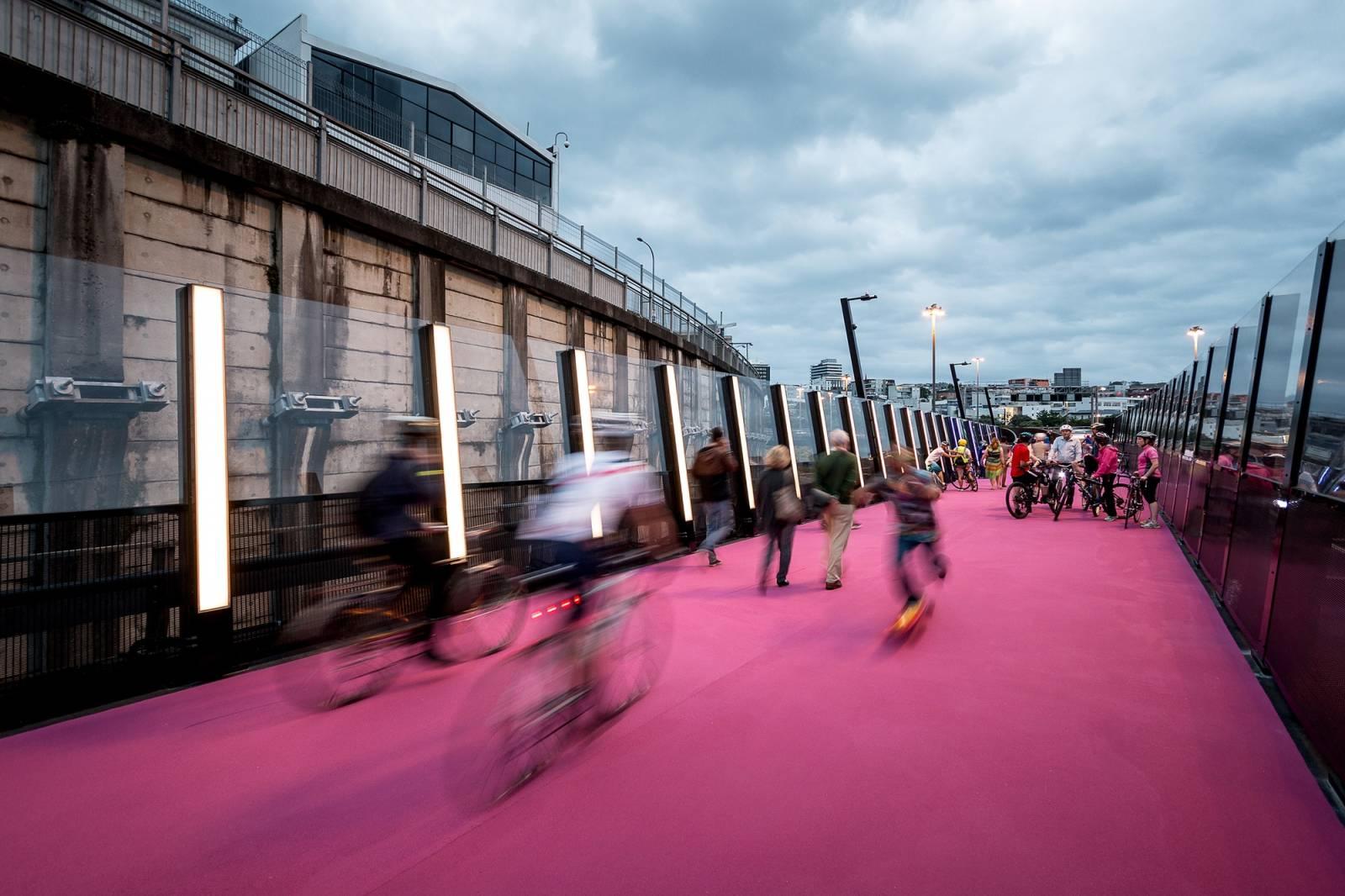 La nuova pista ciclabile rosa della Nuova Zelanda