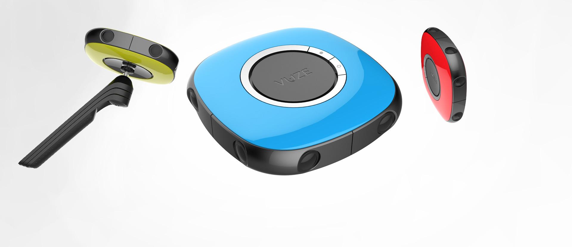 Vuze VR, una nuova videocamera a 360°