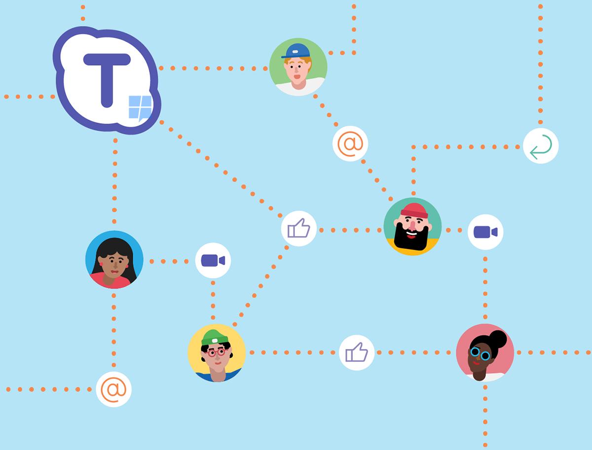 Skype Teams, Microsoft lavora al concorrente di Slack