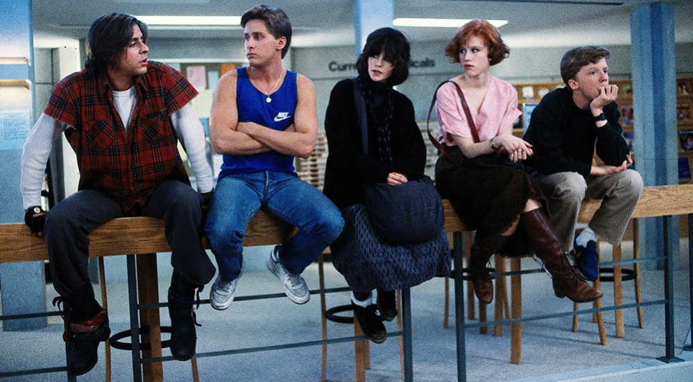 the breakfast club anni '80