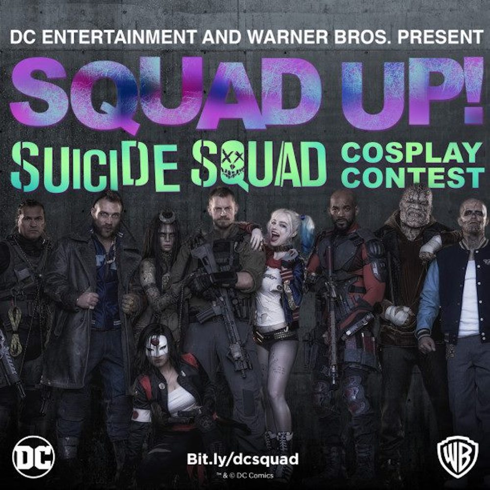 Suicide Squad Cosplay Contest a Lucca Comics & Games!