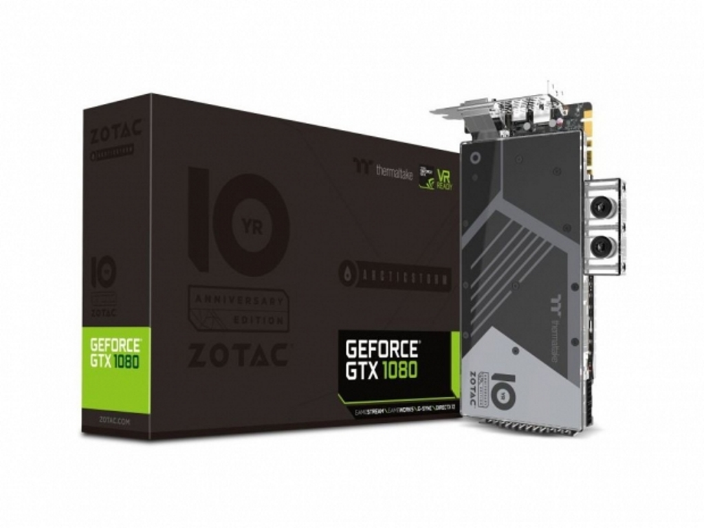 Zotac, arriva una GeForce GTX 1080 con raffreddamento a liquido
