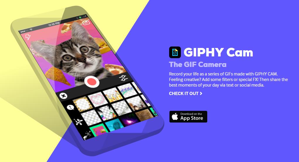 Giphy Cam, l'app per gli amanti delle GIF in arrivo su Android