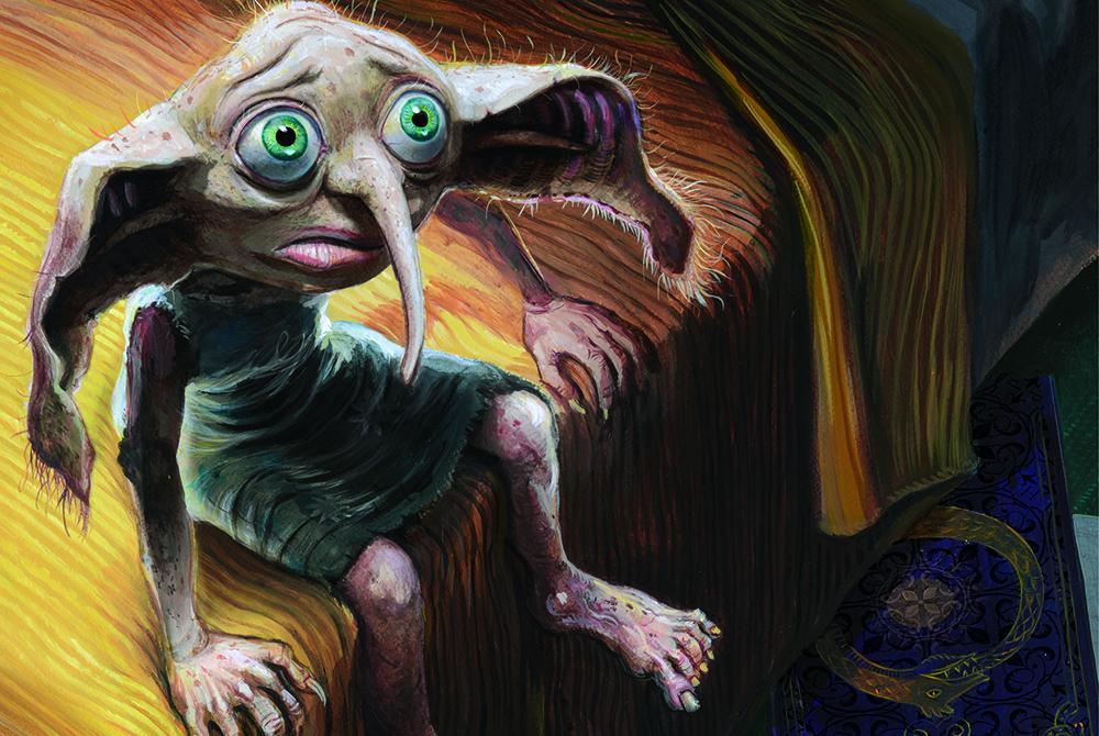 Harry Potter e la Camera dei Segreti, il libro illustrato