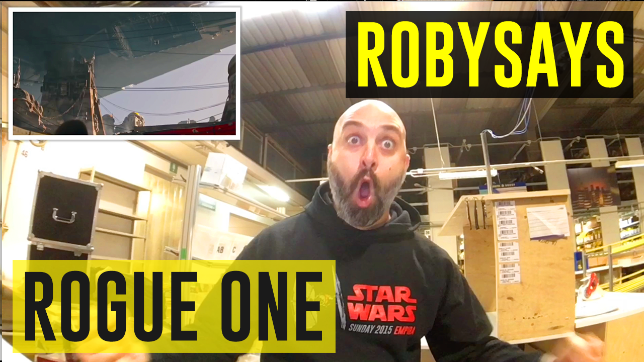Rogue One #RobySays