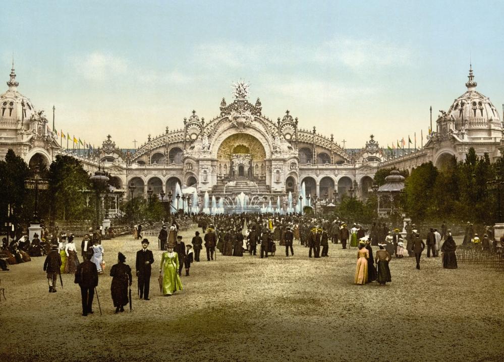 le_chateau_deau_and_plaza_exposition_universal_1900_paris_france