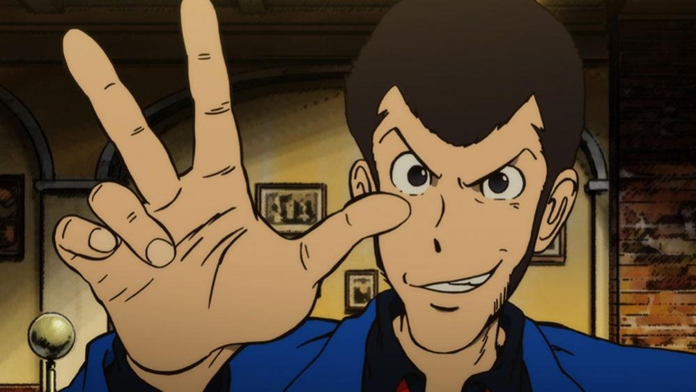 Lupin III manga anime