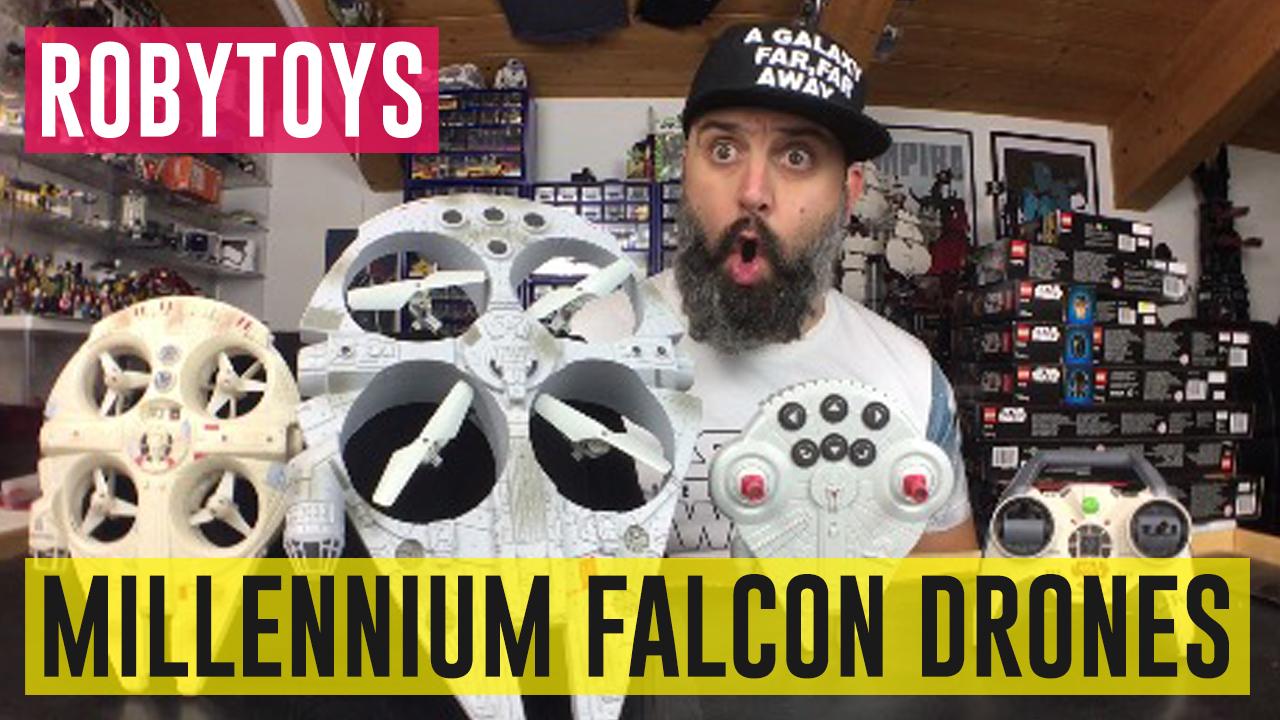 Millennium Falcon Drones #RobyToys